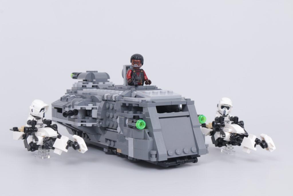 LEGO Star Wars The Mandalorian Speeder Bike Z 74 custom build competition 2
