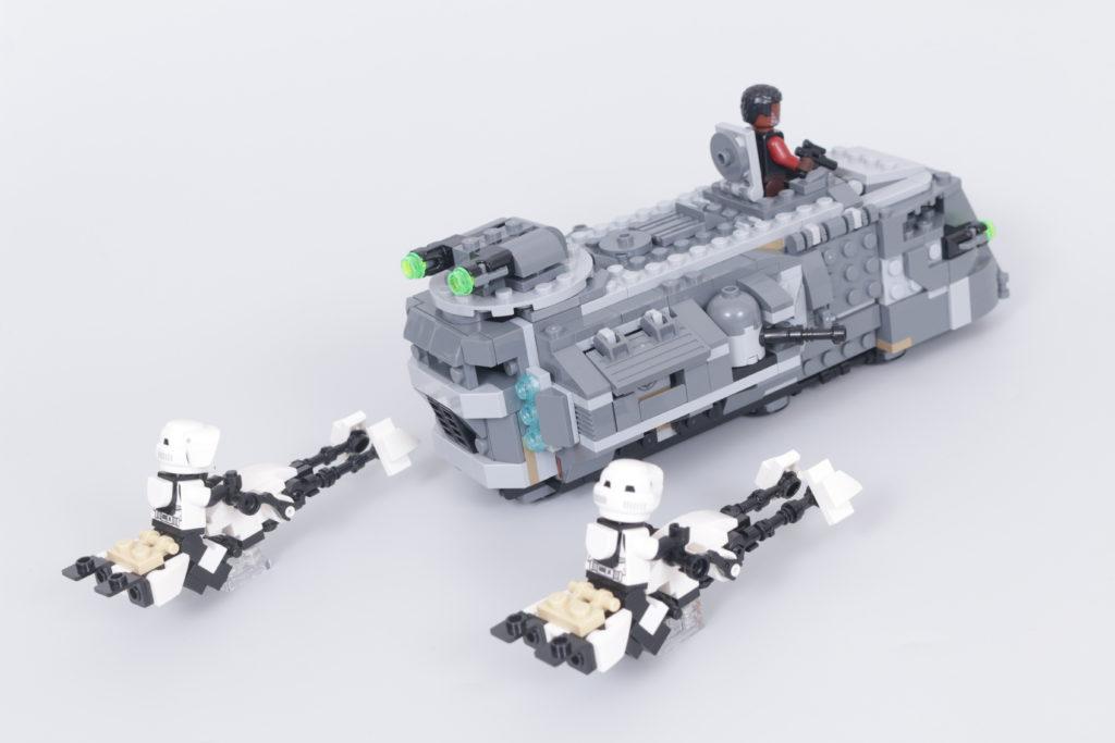 LEGO Star Wars The Mandalorian Speeder Bike Z 74 custom build competition 3