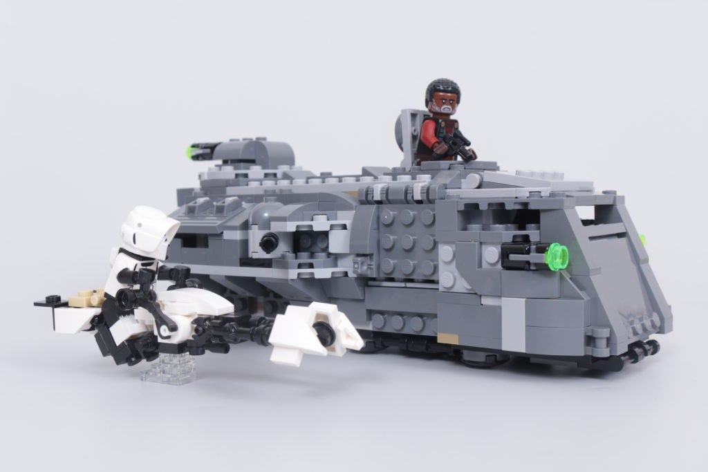 LEGO Star Wars The Mandalorian Speeder Bike Z 74 custom build competition 4