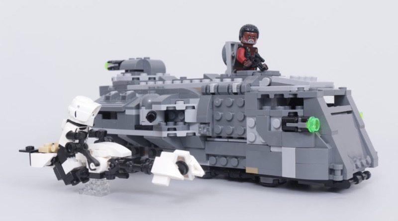 LEGO Star Wars The Mandalorian Speeder Bike Z 74 custom build competition featured 1