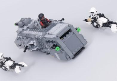Last chance to win a LEGO Star Wars: The Mandalorian Speeder Bike