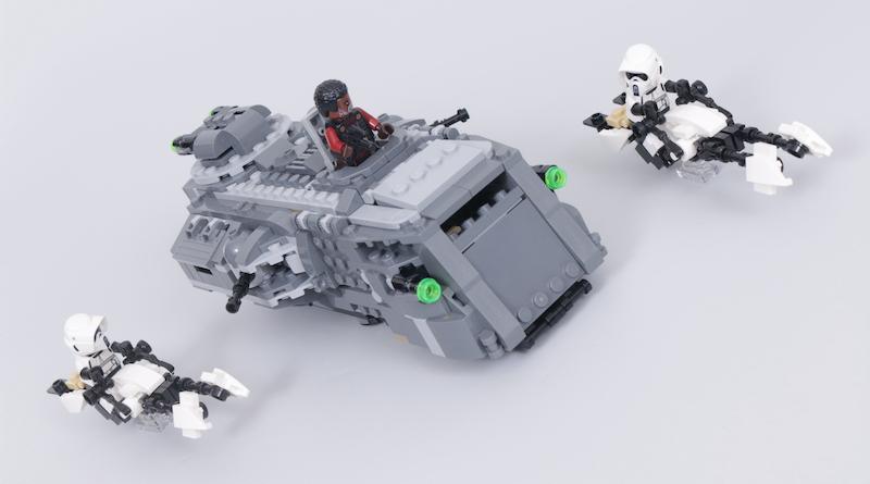 LEGO Star Wars The Mandalorian Speeder Bike Z 74 Custom Build Competition Title 1