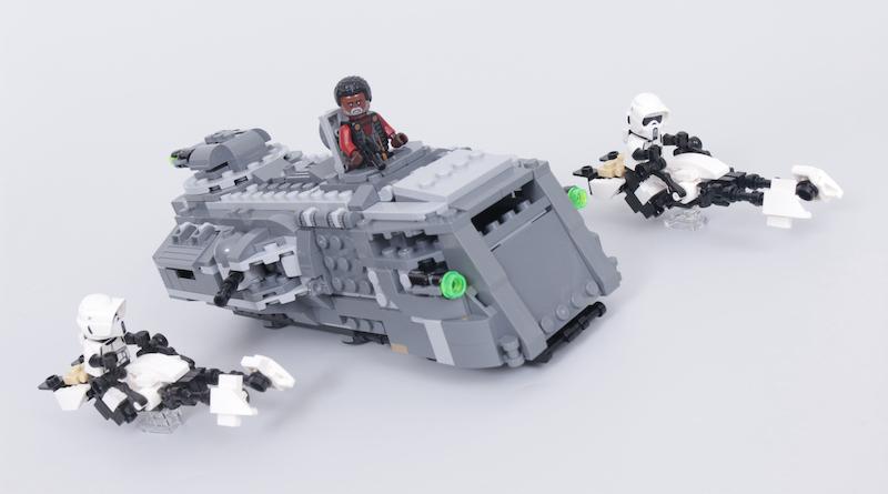 LEGO Star Wars The Mandalorian Speeder Bike Z 74 Custom Build Competition Title 2