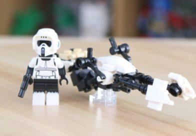 Win a LEGO Star Wars: The Mandalorian Speeder Bike for 75311 Imperial Armored Marauder