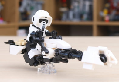 Win our custom LEGO Star Wars Mandalorian Speeder Bike build
