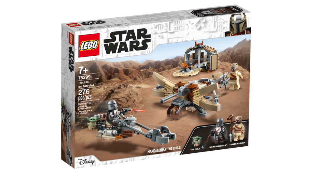 LEGO Star Wars The Mandalorian Set 75299 Trouble On Tatooine 1