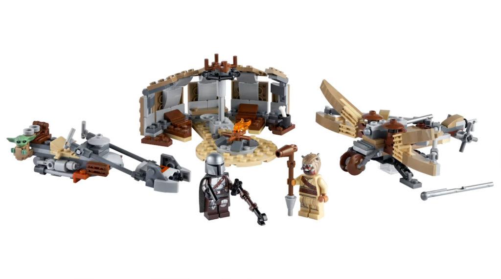 LEGO Star Wars The Mandalorian Set 75299 Trouble On Tatooine 3