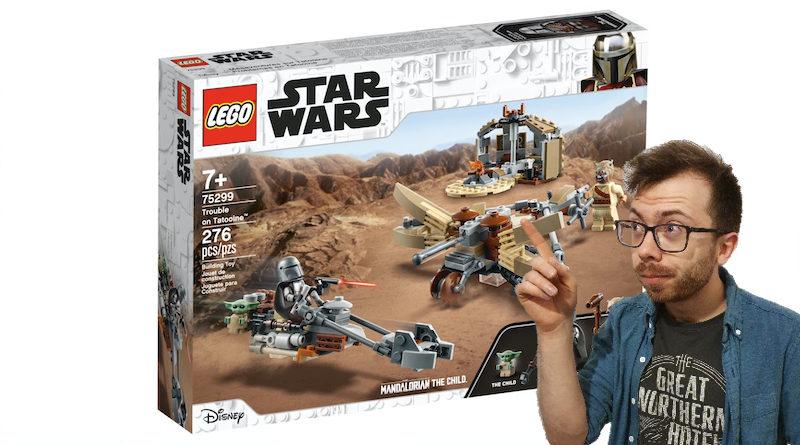 LEGO Star Wars The Mandalorian Set 75299 Trouble On Tatooine Chris Pointing 800x445