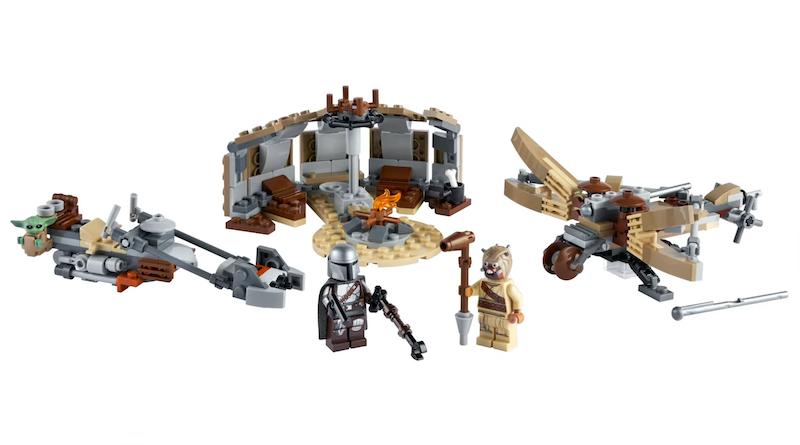 LEGO Star Wars The Mandalorian Set 75299 Trouble On Tatooine Title