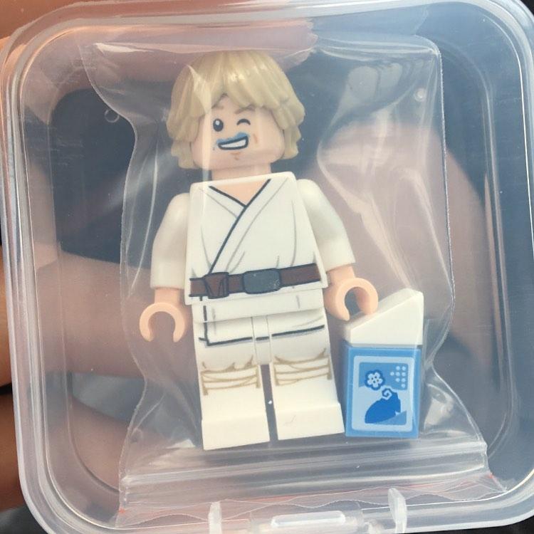 LEGO Star Wars The Skywalker Saga Blue Milk Luke