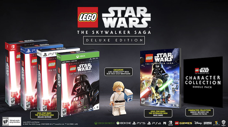 LEGO Star Wars The Skywalker Saga Deluxe Edition