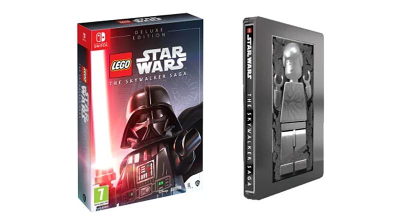 LEGO Star Wars The Skywalker Saga Deluxe Steelbook Featured
