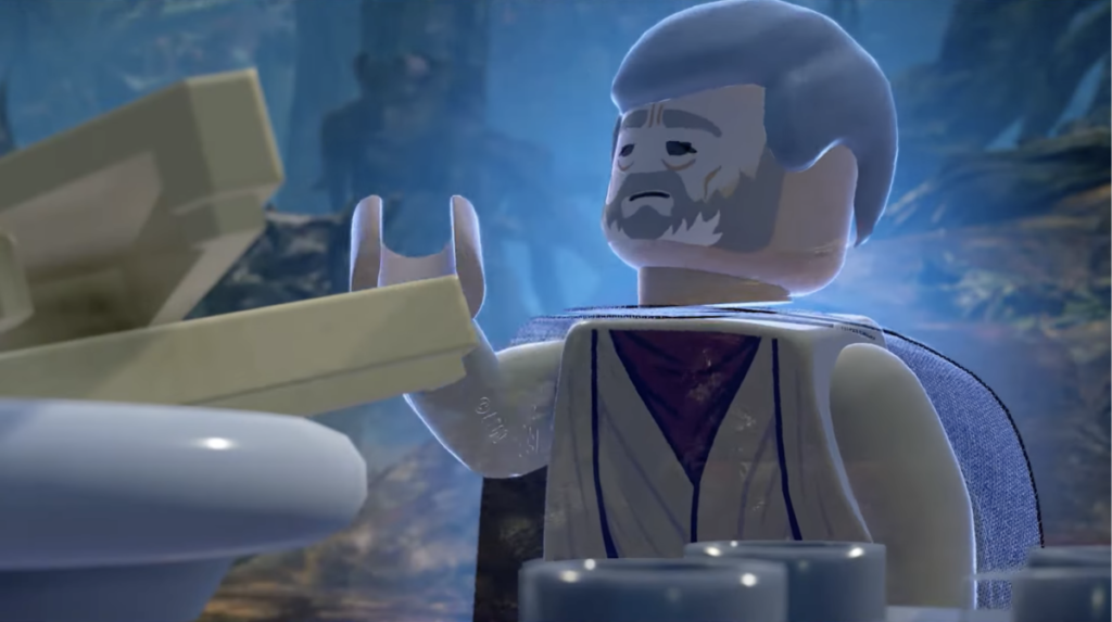LEGO Star Wars The Skywalker Saga Force Ghost minifigures