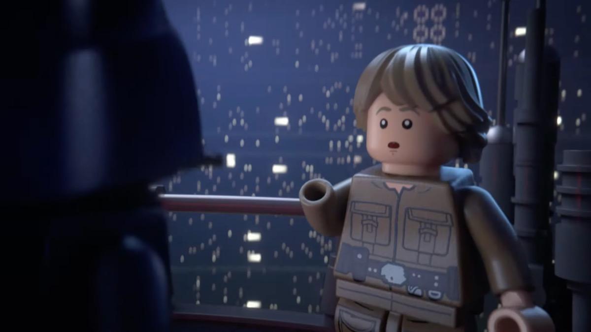 LEGO Star Wars The Skywalker Saga Luke Missing Hand