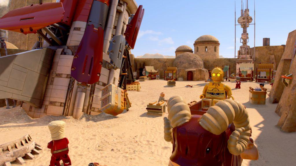 LEGO Star Wars The Skywalker Saga Mos Eisley