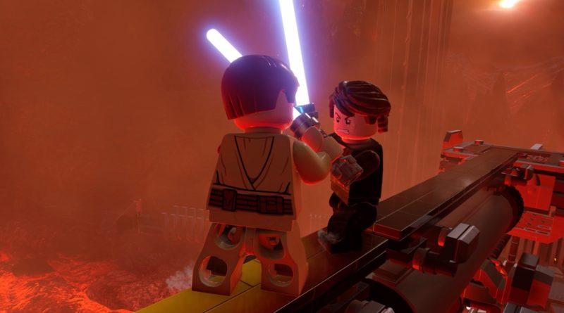 LEGO Star Wars The Skywalker Saga Mustafar Duel