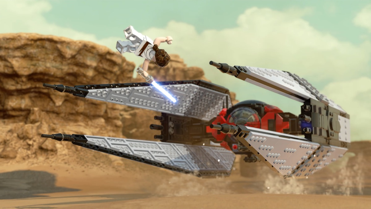 LEGO Star Wars The Skywalker Saga Rey Leap Featured