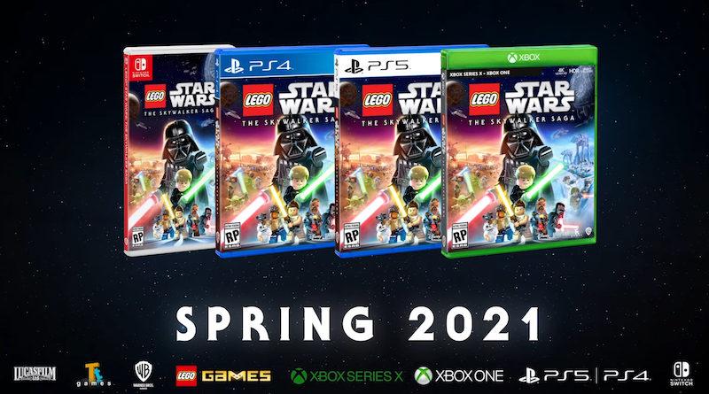 LEGO Star Wars The Skywalker Saga Spring 2021 800x445