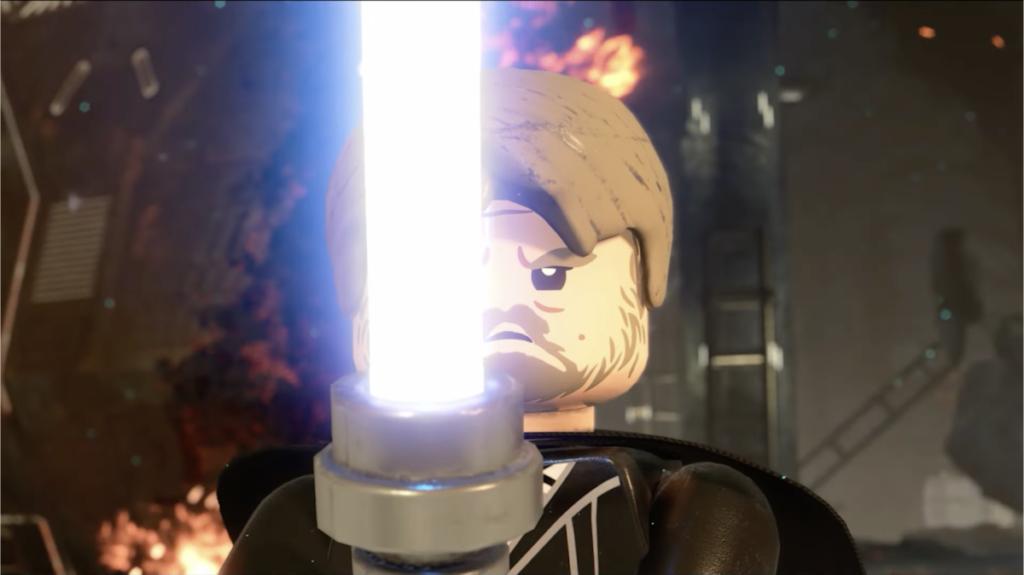 LEGO Star Wars The Skywalker Saga The Last Jedi Luke