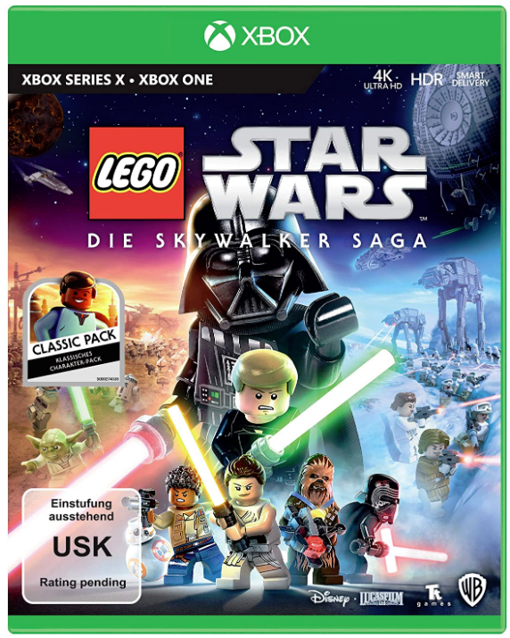 LEGO Star Wars The Skywalker Saga Xbox Germany Cover