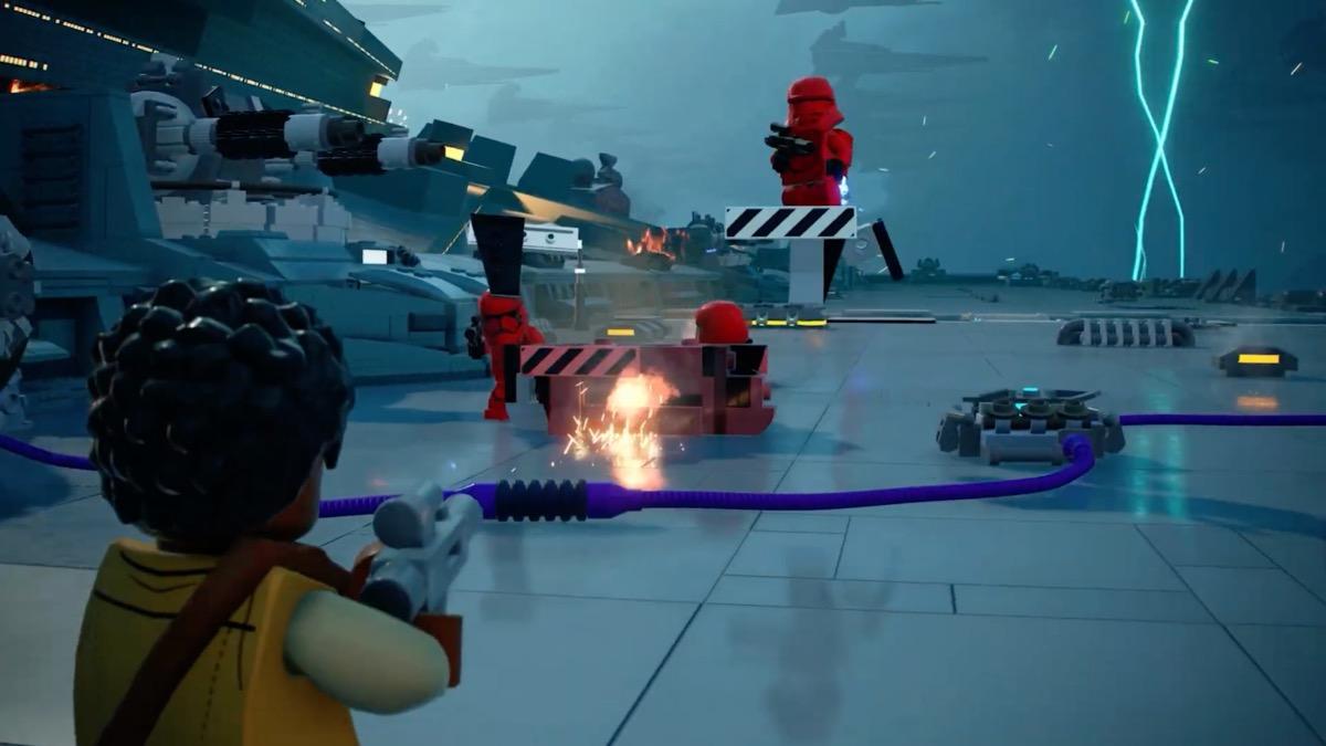 LEGO Star Wars The Skywalker Saga Blaster Combat Trailer Featured