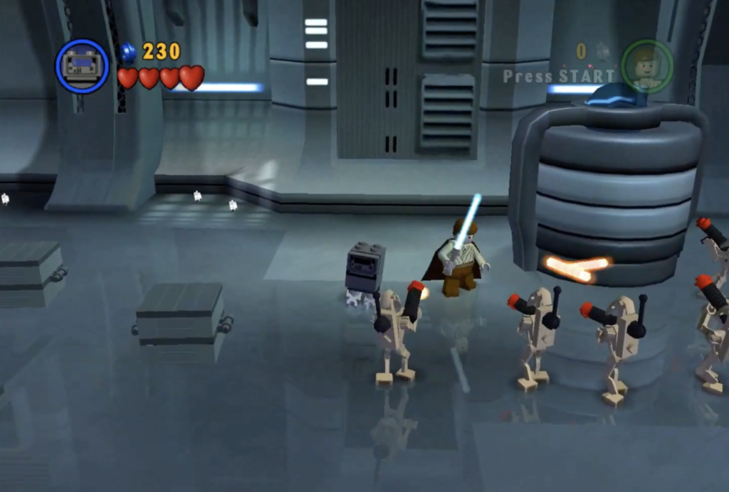 LEGO Star Wars The Video Game Gonk Droid