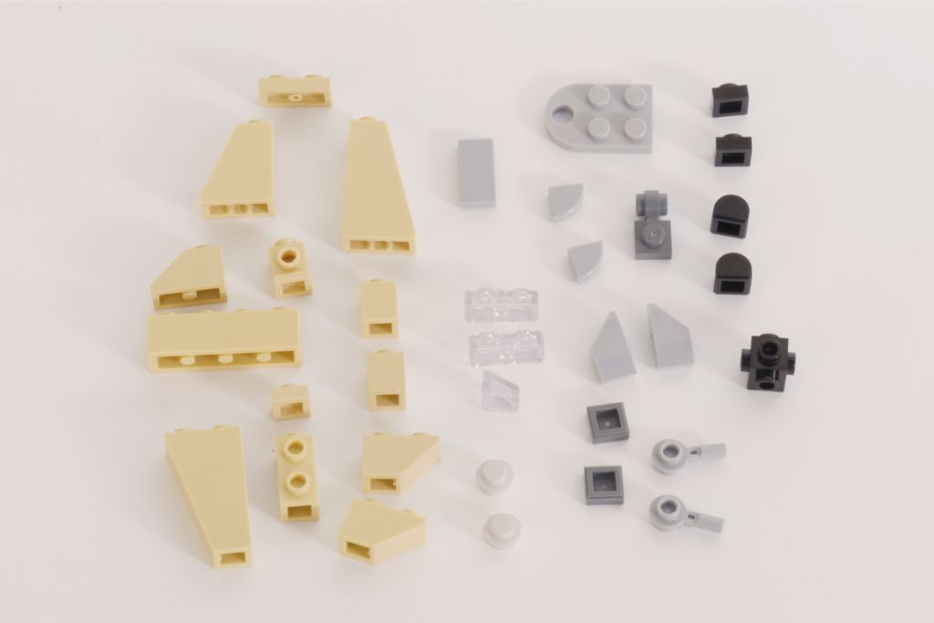 LEGO Star Wars Treadspeeder Steps 1