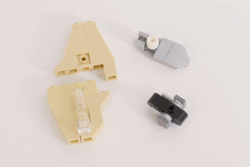 LEGO Star Wars Treadspeeder Steps 3