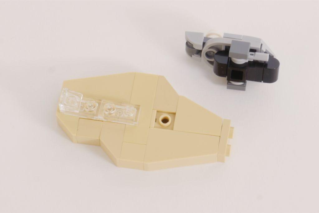 LEGO Star Wars Treadspeeder Steps 4