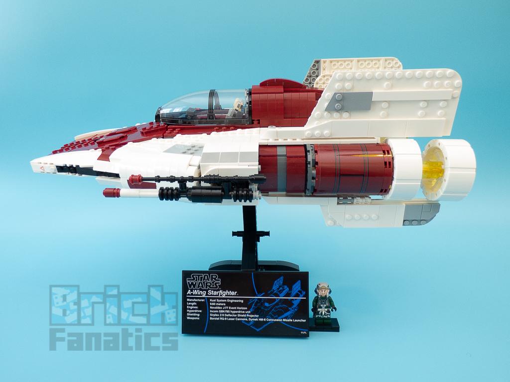 LEGO Star Wars UCS 75275 A Wing Starfighter 54