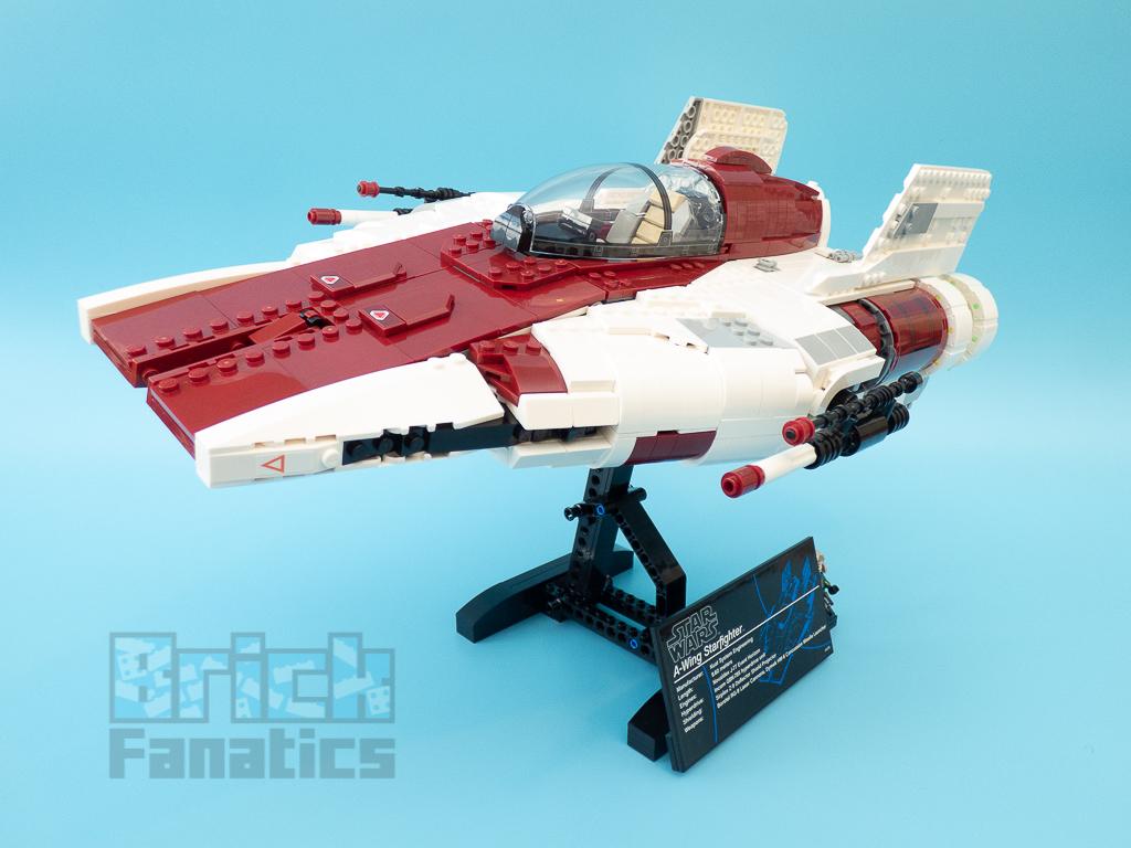 LEGO Star Wars UCS 75275 A Wing Starfighter 56
