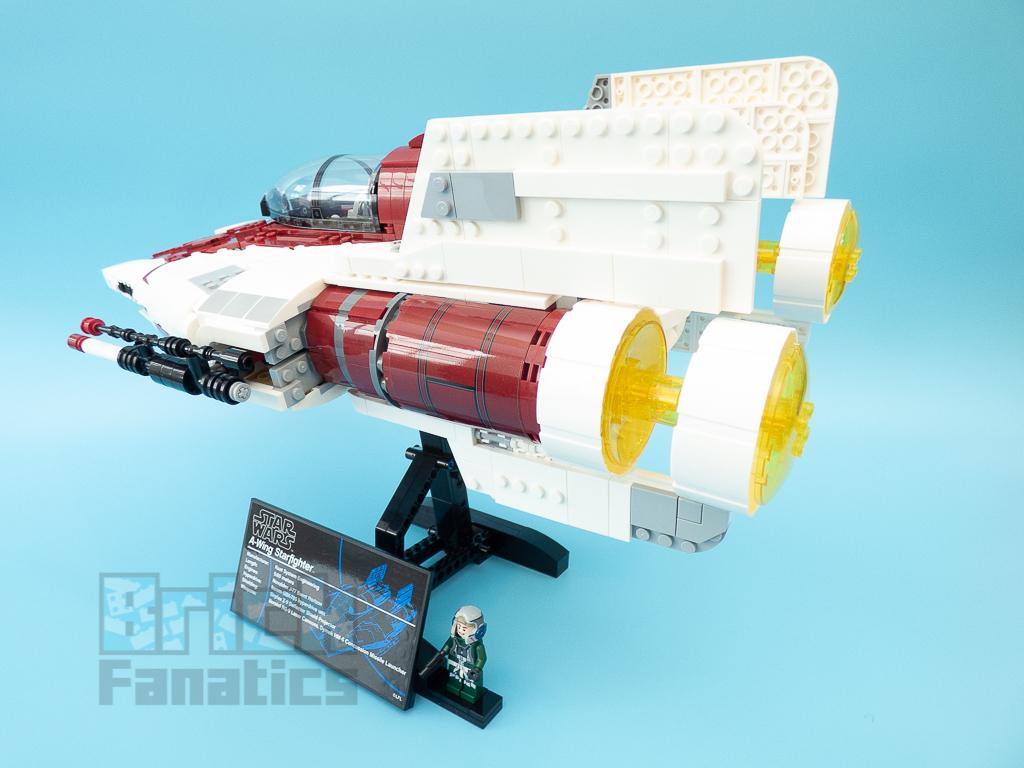 LEGO Star Wars UCS 75275 A Wing Starfighter 63