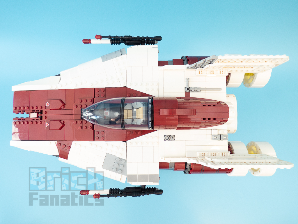 LEGO Star Wars UCS 75275 A Wing Starfighter 66