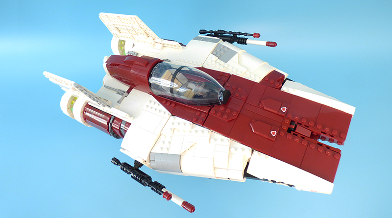 LEGO Star Wars UCS 75275 A wing Starfighter featured