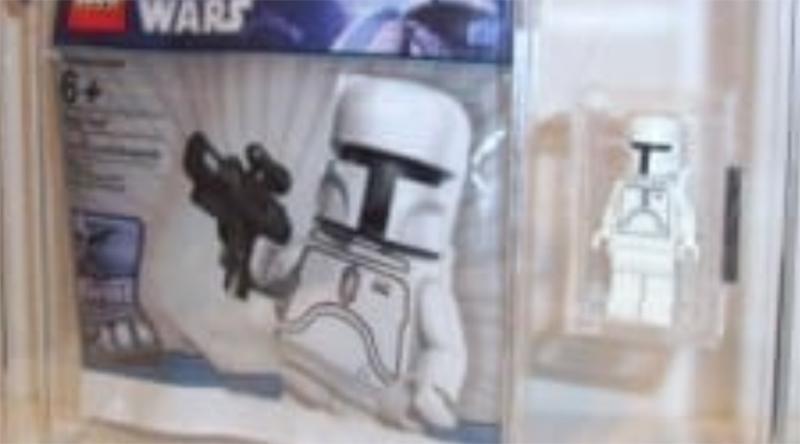 LEGO Star Wars White Boba Fett graded