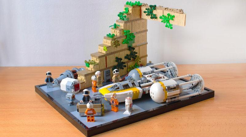 LEGO Star Wars Yavin IV hachiroku