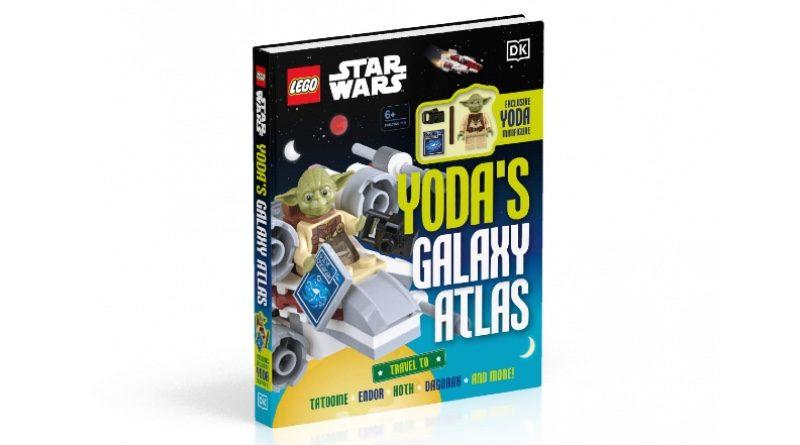 LEGO Star Wars Yodas Galaxy Atlas DK Books featured