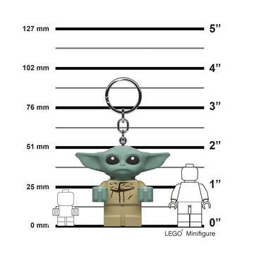 LEGO Star Wars Baby Yoda Key Light Height