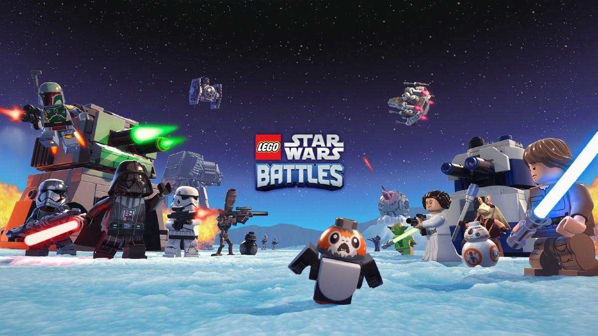 LEGO Star Wars Battles Key Art Featured