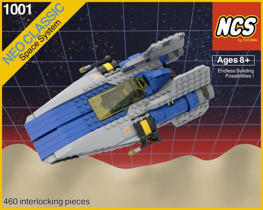 LEGO Star Wars classic space A wing