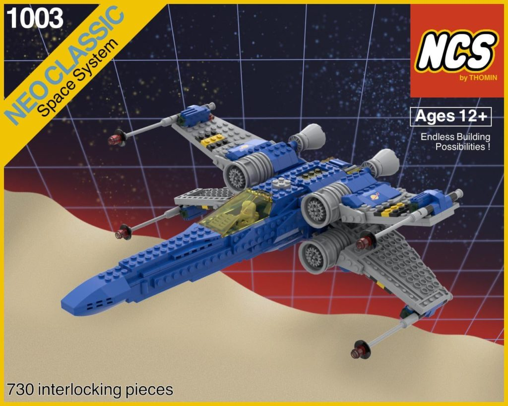 LEGO Star Wars Classic Space X Wing 1