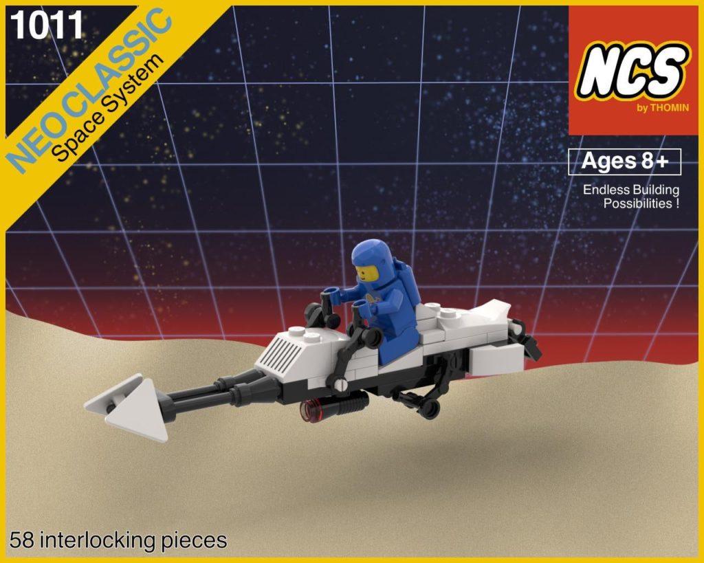 LEGO Star Wars Classic Space Speeder Bike