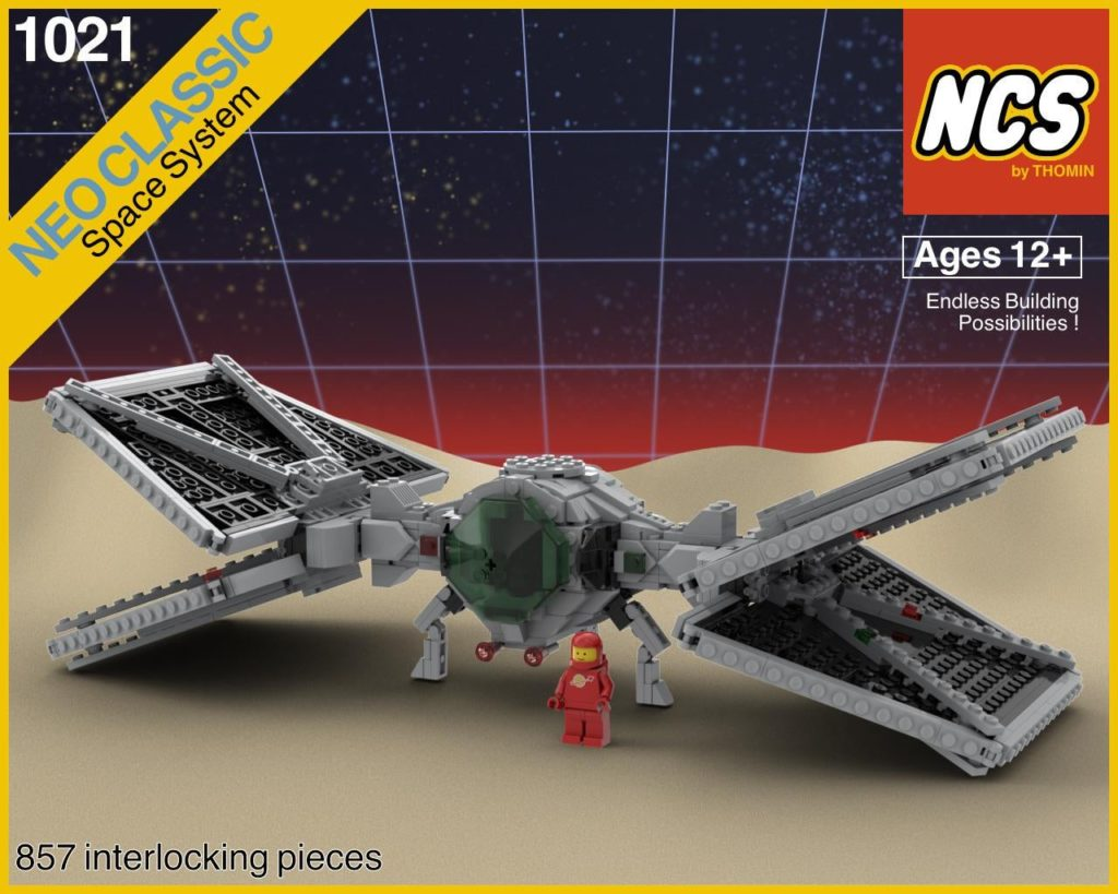 LEGO Star Wars classic space tie fighter