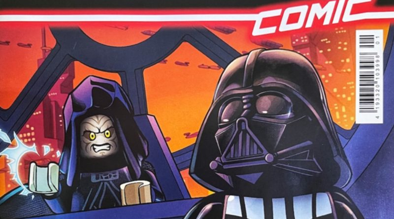 LEGO Star Wars comic book Issue 1 featured