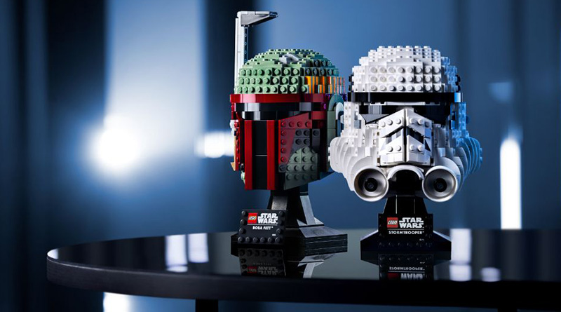 LEGO Star Wars Buildable Helmets