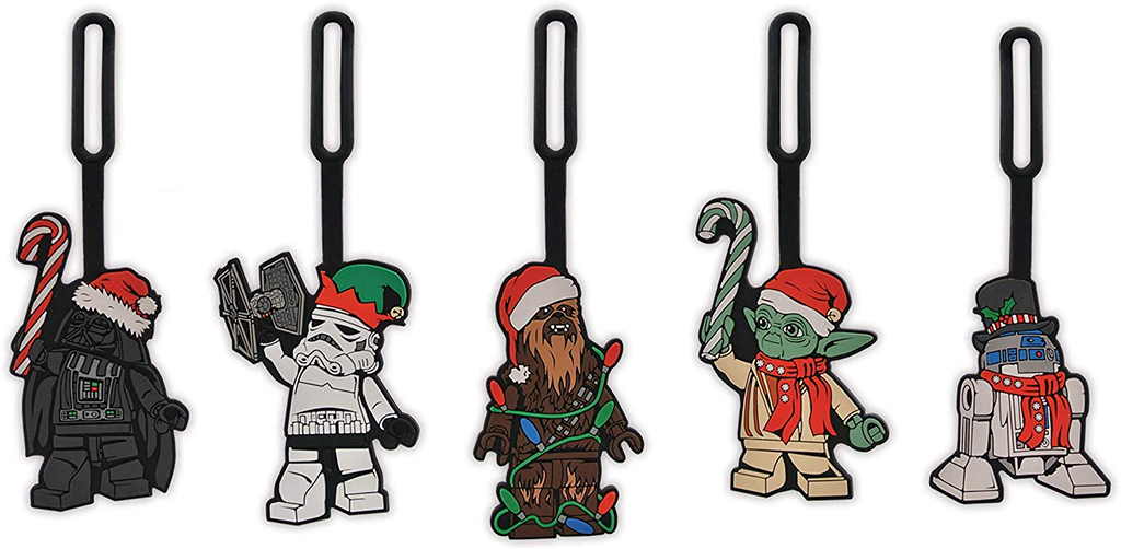 LEGO Star Wars Christmas luggage tags released in the USA