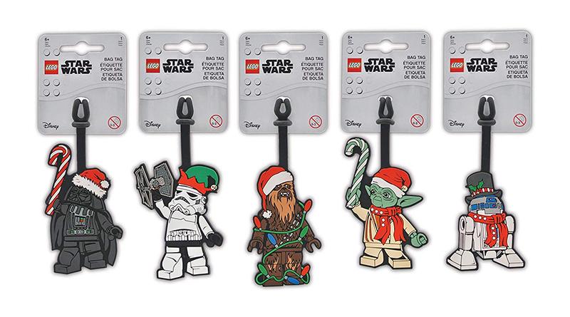 LEGO Star Wars luggage toys