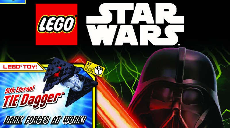 LEGO Star Wars Magazine 64 Cover Featured