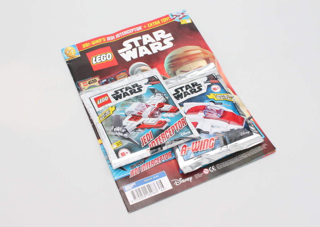 LEGO Star Wars Magazine Issue 66 1