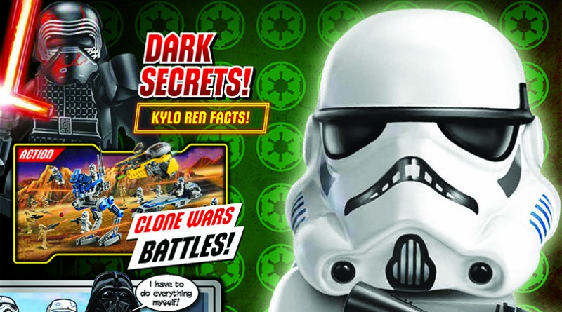 LEGO Star Wars Magazine Issue 67 Cover Featured